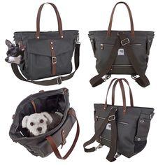 Dog / Pet Carrier Tote Bag by MICRO POOCH™ - Dog Purse, Dog Bag Carrier, Chihuahua, チワワ ドッグキャリー, сумка для собак.