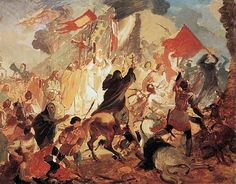 Осада Пскова. 1837-1839. Холст, масло. ГРМ. ?