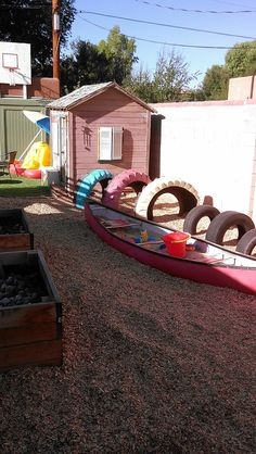 recycled playgriund ideas | Playground consulting - alternative, natural, educational, and low ...