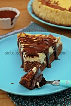 What's for dessert?: Brownie bottom cheesecake