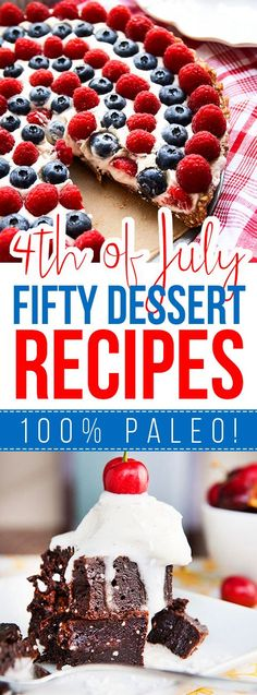 Fifty 4th of July Dessert Recipes!