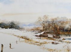 Maciej Zaborowski Watercolors