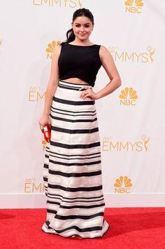 Pin for Later: Voilà ce Que Les Stars Ont Porté aux Emmy Awards Ariel Winter Ariel Winter a montré un bout de son ventre dans cet ensemble maxi skirt et drop top.