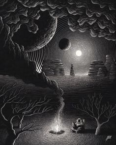 Kratz Kunst, Black Paper Drawing, Scratchboard Art, Scratch Art, Arte Obscura, Photo Images, Occult Art, Story Instagram, Instagram Artist