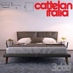 Кровать Cattelan Italy Adam