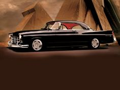 """1956 Chrysler 300 17"""" Boyd Wheels - vehicle owned by Gary """"Goodguy"""" Meador"""