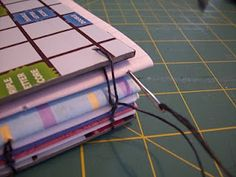 Upcycled Journal Tutorial . Bookbinding