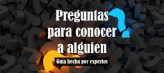 +120 Preguntas para Conocer a una Persona 【MUY INTERESANTES】 Deep Talks, Such Und Find, Funny Questions, Printable Bridal Shower Games, Question Game, Life Guide, Stress, Life Rules, Meaningful Life