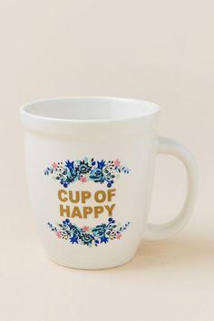 Cup Of Happy Floral Mug