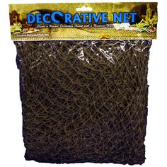 <div>Create the perfect seaside affair with this rustic, authentic fishing net. Hung on a wall, ...