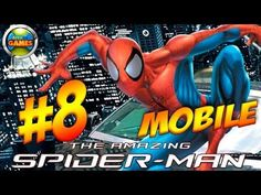 The Amazing Spider Man Mobile Parte #8 Java Game Touch