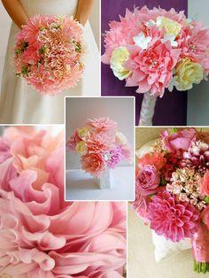 dahlia wedding bouquets - Google Search