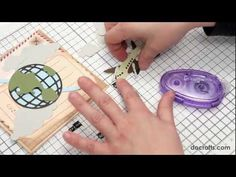 How To Make The Xcut Build-A-Scene 'Around The World' Moving Card