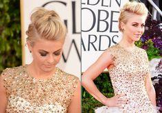 2013 Golden Globe Favorites, braided mohawk up-do