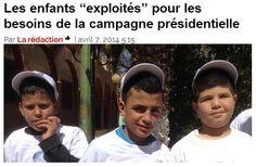 """=====VOYOU=====BOUTEF=====DEGAGE=====: Les enfants """"exploités"""" pour les besoins de la cam..."""
