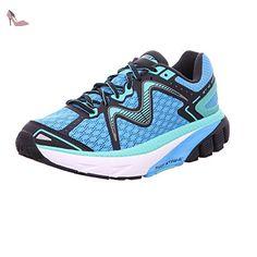 MBT Gt 16, Chaussures de Running Compétition femme - - Blue/Cyan, -