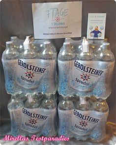 """Schon im letzten Jahr habe ich mein Glück bei dem """"Projekt Wasserwoche"""" von Gerolsteiner versucht, wurde jedoch leider nicht ausgewählt. In diesem Jahr hat es jedoch geklappt und ich habe einen Wochenvorrat, bestehend aus 24 0,75 Liter-Flaschen Gerolsteiner Sprudel, erhalten. Neben mir bekamen noch 2.999 andere einen Wochenvorrat."""