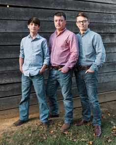A portrait of a father and his sons. Photo by @lilylarsonphotography edited with Mastin Labs film emulation presets for Adobe CC.    #familyphotography #familyportraits