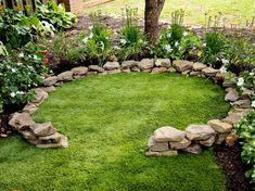 How to Create a Magical Backyard Fairy Ring - Modern Design Prayer Garden, Meditation Garden, Dream Garden, Garden Art, Garden Design, Spiritual Garden, Fairy Ring, The Secret Garden, Garden Cottage