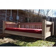 Tmp Outdoor Furniture Fanback Style Daybed Swing From Cedar Swing Beds Pinterest Outdoor