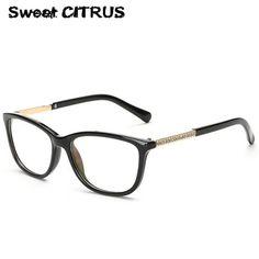 9d07412cfab Sweet CITRUS 2017 New Brand Optical Glasses Frame Vintage Women Reading  Eyewear Lady Computer Glasses oculos