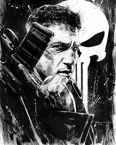 """One Batch. Two Batch. Penny and A Dime.""  #ThePunisher by Ricardo Drumond by thegeekrealm"