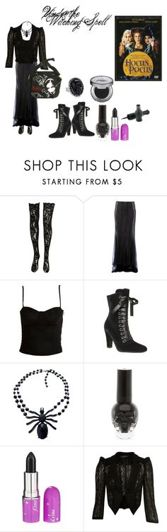 """The Witching Hour"" by redbutterfly555 ❤ liked on Polyvore featuring CO, Haider Ackermann, Hot Topic, Miss Selfridge, Tarina Tarantino and Urban Decay"