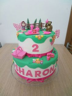 Cake Masha e Orso