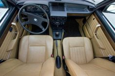 1980 BMW 528i E12 Sedan For Sale Interior