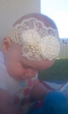 Fancy Darling Baby Girls Headband by KBabyHeadbands on Etsy, $11.95