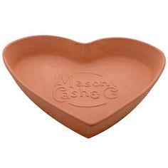 Mason Cash Terracotta Tear & Share Heart 28cm