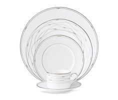 Royal Doulton Dinnerware, Precious Platinum Collection - Fine China - Macy's