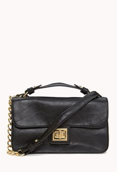 #Black #Leather #Forever21 #Handbag Save this image and upload it to your closet! http://wishi.me