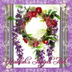"My first ""Mandala Flower Crown"" that I use as Window decoration❤️ www.raleiahs-angels.com New Darlings, Nature Spirits, Yarn Shop, Flower Mandala, Flower Crown, Floral Wreath, Angels, Art Gallery, Window"