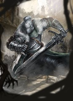 Dark Souls is an action RPG known for it's severe difficulty and its dark mythology. Using weapons, armor, and other items found along the way. 30 Best Pieces of Dark Souls Fan Art Fantasy Male, Fantasy Armor, Dark Fantasy Art, Medieval Fantasy, Medieval Knight, Dark Souls 2, Arte Dark Souls, Dark Souls 3 Knight, Armadura Medieval
