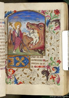Christ: Harrowing of Hell | Book of Hours | France, Brittany | ca. 1465 | The Morgan Library & Museum