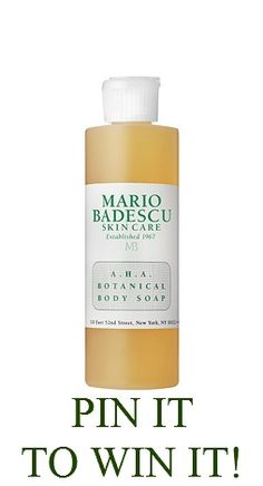 Re-pin! After 100 Repins, we'll award this product to FIVE lucky pinners. Make sure to repin from Mario Badescu's pinboard, here:  #win #free #giveaway #pinittowinit #mariobadescu #beauty #skincare #contest
