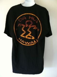 Da Hui Hawaii t shirt  with surfer dude logo