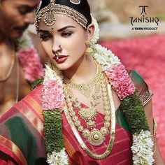 Exquisite #wedding jewellery for the bride who deserves nothing but the very best. Visit https://www.tanishq.co.in/book-an-appointment to book an appointment with us to explore our varied range of wedding finery!