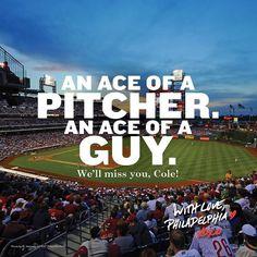 Dear Cole Hamels, you'll always be our MVP! XOXO, Philadelphia. Phillies Baseball, Baseball Games, Baseball Field, 2008 World Series, Cole Hamels, Visit Philly, Philadelphia Sports, Cool Themes, Movie Stars
