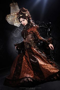 Steampunk Dress by Marco Ribbe.