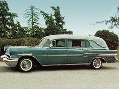 Pontiac Star Chief Funeral Car by Superior '1957