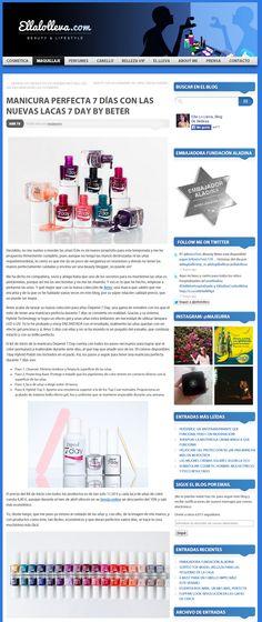 Blog #EllaloLleva, kit de #manicura #7dayDepend.