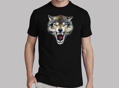 Camiseta Wolf Techy Art Angel Decuir #laTostadora #España