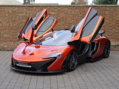 2013 Used McLaren Volcano Orange Luxury Sports Cars, New Sports Cars, Super Sport Cars, Best Luxury Cars, Super Car, Jaguar Sport, Jaguar Xk, Ferrari Laferrari, Lamborghini