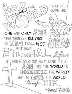 Printable Bible Coloring Worksheets for Kids Dot-to-Dot, Color-by-Number, Coloring Sheets, Verse Posters, Coloring Puzzles<br> Sunday School Activities, Bible Activities, Sunday School Lessons, Church Activities, Bible Study For Kids, Bible Lessons For Kids, Kids Bible, Bible Verse Coloring Page, Sunday School Coloring Pages