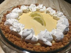 The World's Best, Most Delicious Lemon Meringue Pie Want the best Lemon Meringue or Lemon Cream pie ever? Then this is the recipe for you! It's to die for! Creamy, tart, and delicious! Easy to make too! Smoked Meat Recipes, Smoker Recipes, Grilling Recipes, Jerkey Recipes, Venison Recipes, Sausage Recipes, Lemon Cream Pies, Smoked Beef Brisket, Bbq Beef