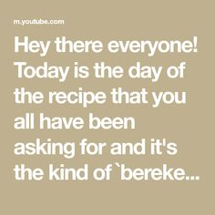 Hey there everyone! Today is the day of the recipe that you all have been asking for and it's the kind of `bereketli` recipe that comes in plenty when it doe... Shawarma, Cooking Videos, Gadgets, Day, How To Make, Recipes, Ripped Recipes, Gadget