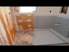 complete tile schluter kerdiboard kerdiline drain walker zanger ceramic time shower panwet