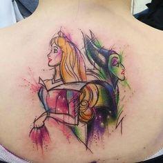 Tatuaggi Disney La bella addormentata nel bosco